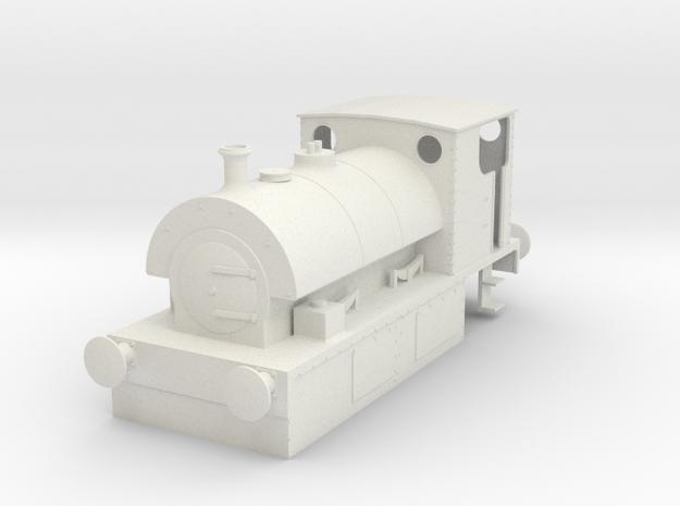 b-50-guinness-hudswell-clarke-steam-loco in White Natural Versatile Plastic
