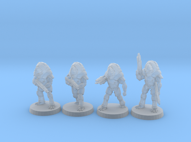 Fauxgan Blood Pack, 15mm in Smooth Fine Detail Plastic