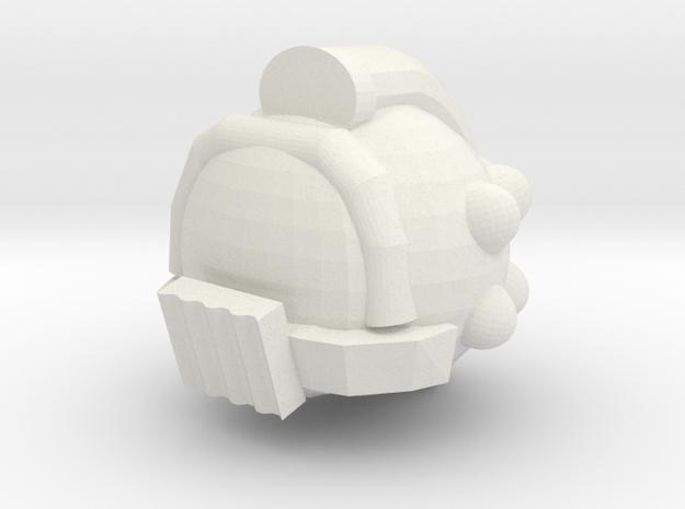 Helmet Gladius in White Natural Versatile Plastic