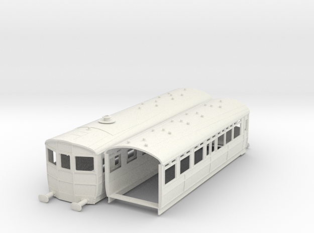 o-32-gwr-diag-o-steam-railmotor1 in White Natural Versatile Plastic