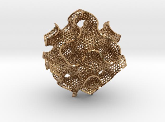 Schwartz D large (7.5 cm diameter) 3d printed
