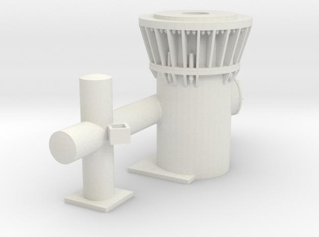 SHOALBUSTER 2609 - Towing bit  in White Natural Versatile Plastic