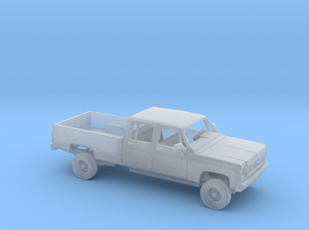 1/160 1973-79 GMC CK Series Crew Cab Kit in Smooth Fine Detail Plastic