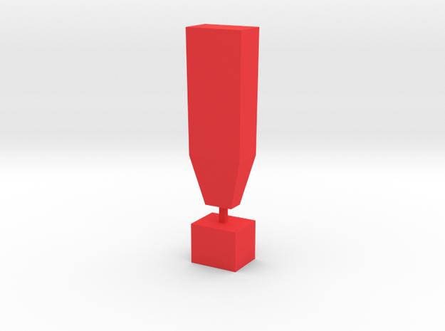 ! in Red Processed Versatile Plastic