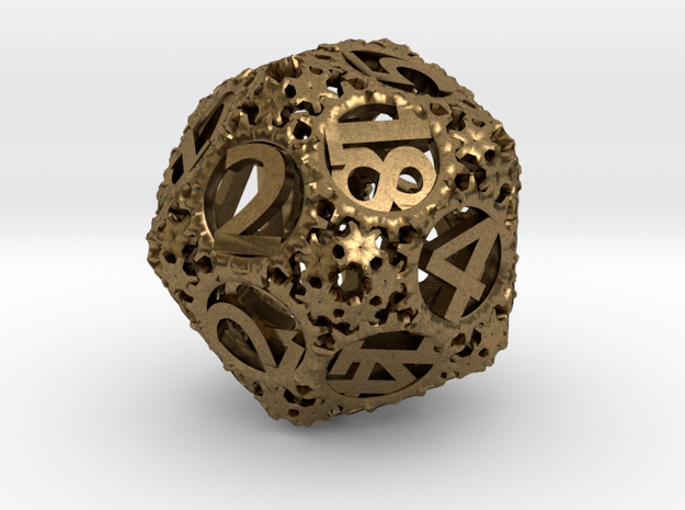 Static Gear (D20) 3d printed