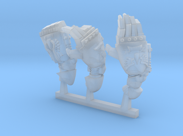bloody angels energy fists in Smoothest Fine Detail Plastic