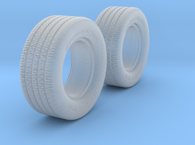1/25 BFG 8 inch 70 series x2 in Smooth Fine Detail Plastic