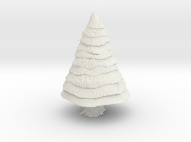 Pine Tree 1/120 in White Natural Versatile Plastic