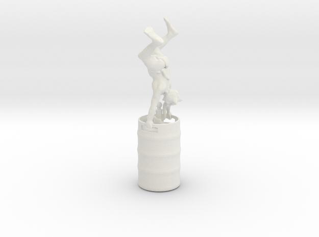 Party Monster Goblin Keg Stand in White Natural Versatile Plastic