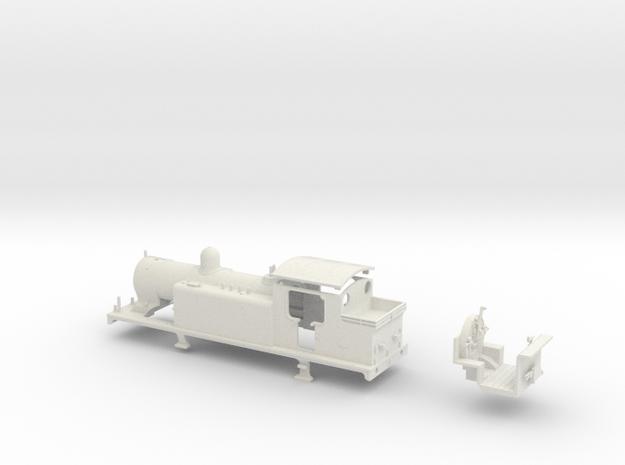 """LBSCR E4 (W/ """"Pipe valves"""") in White Natural Versatile Plastic"""