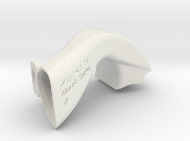 Airscoop for Tamiya Dyna Storm in White Natural Versatile Plastic