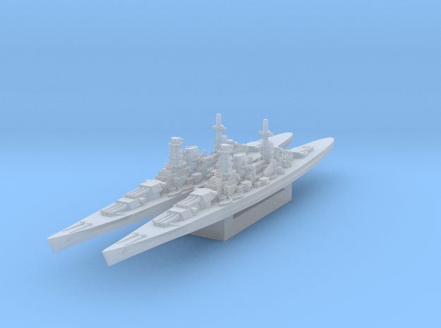 Kronshtadt CA-length (Axis & Allies) in Smooth Fine Detail Plastic