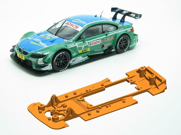 PSCA01401 Chassis for Carrera BMW M3 DTM in White Natural Versatile Plastic