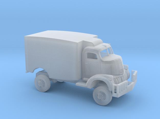 1/160 1941 Chevrolet COE Panel Movie Truck Kit in Smooth Fine Detail Plastic