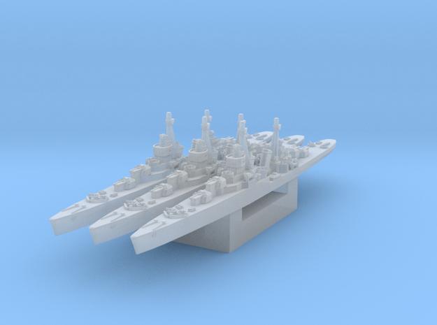 Soviet light cruiser MLK-8-130 1/3000 in Smooth Fine Detail Plastic