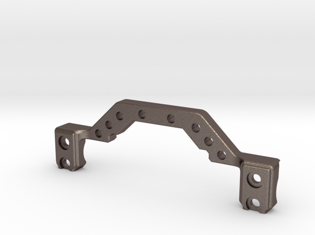 HD Metal Truss for Enduro Axles in Polished Bronzed-Silver Steel