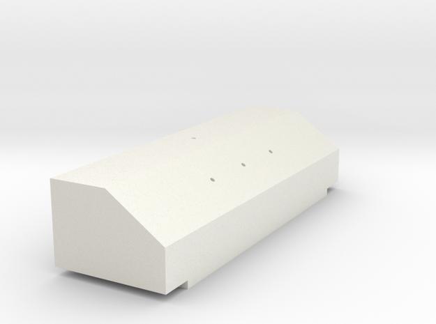 King Hauler Airline Box #2 in White Natural Versatile Plastic
