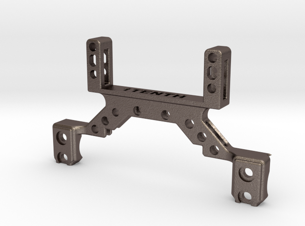 Metal Truss with Servo on axle for Enduro in Polished Bronzed-Silver Steel