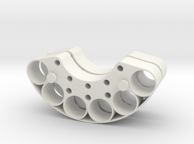 OD60-Tungsten PINEWOOD support -V2-OD60-X2 in White Natural Versatile Plastic