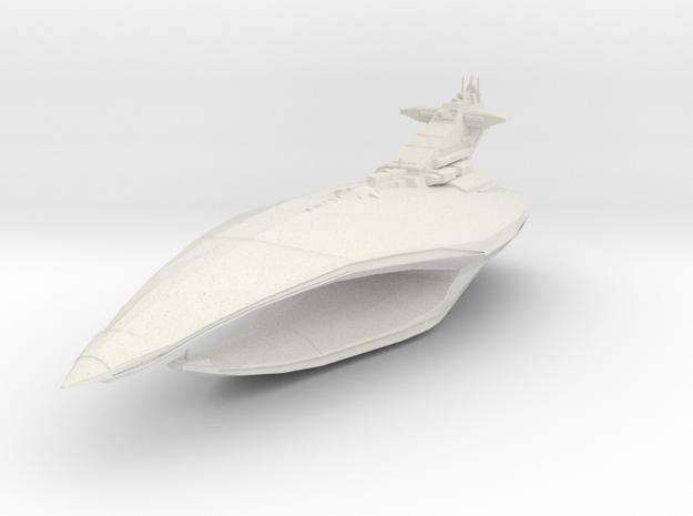 "Darth Revan's flagship 5.5"" long in White Natural Versatile Plastic"