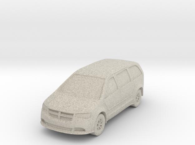 """Minivan at 1""""=10' Scale in Sandstone"""