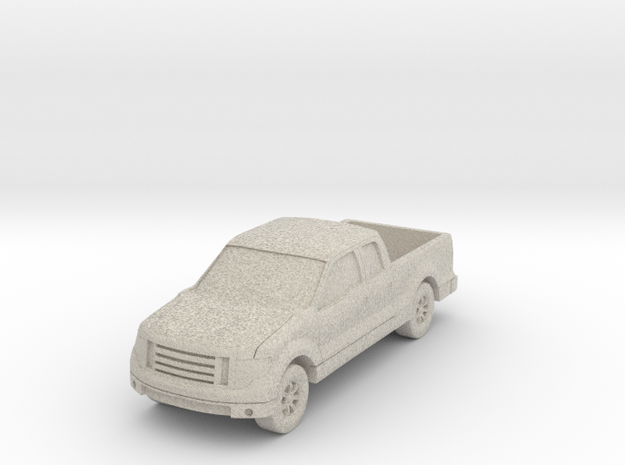 "Truck at 1""=10' Scale in Natural Sandstone"