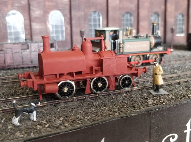 LBSCR Early Craven Tank #27 (0-4-2T) in Smooth Fine Detail Plastic