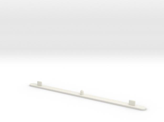 Animation Peg Bar in White Natural Versatile Plastic