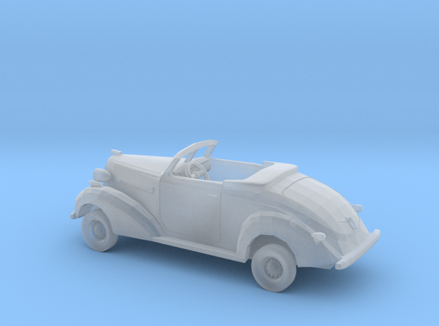 1/87 1936 Buick Convertible Kit in Smooth Fine Detail Plastic