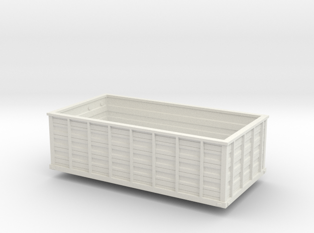 KN16 Lowside.stl in White Natural Versatile Plastic