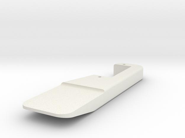 Micro Magic nano SERVOPLATE 20 mm x 9 mm in White Natural Versatile Plastic