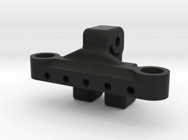 Upper Link Riser truss add-on for Axial AR60  in Black Natural Versatile Plastic