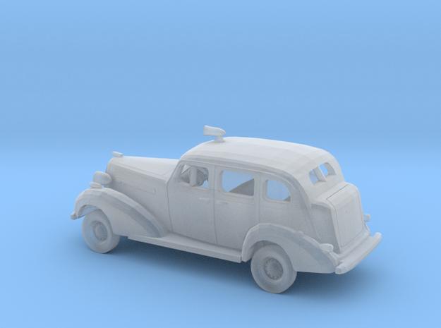 1/87 1936 Buick Sedan Police  Kit in Smooth Fine Detail Plastic