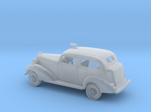 1/160 1936 Buick 2Door Sedan Police Kit in Smooth Fine Detail Plastic