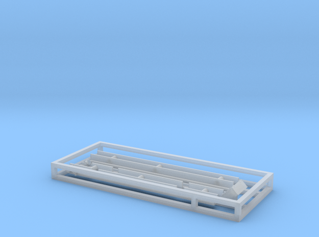 N Scale Intermountain SD40-2 Underbody Frame Kit in Smooth Fine Detail Plastic
