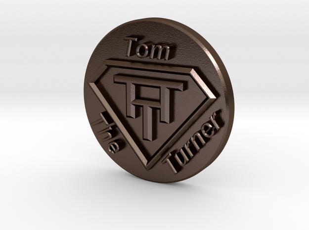 V2 Stamp TTT in Polished Bronze Steel