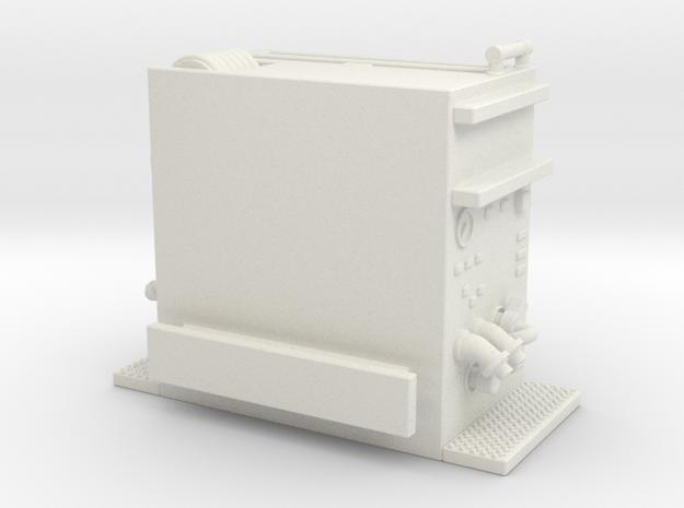 1/87 2015 Detroit Smeal Pump section in White Natural Versatile Plastic