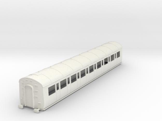 o-32-gwr-c54-third-class-coach in White Natural Versatile Plastic