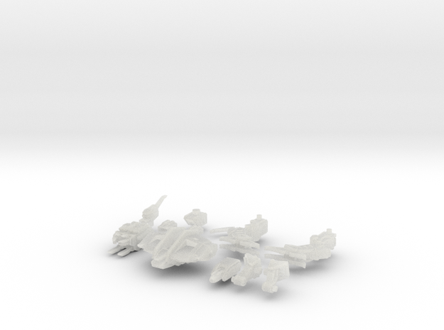 C-SAV-0 Savitri Eminus (alt. E) in Smooth Fine Detail Plastic