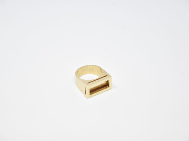 Yin Ring in Natural Bronze: 4.5 / 47.75