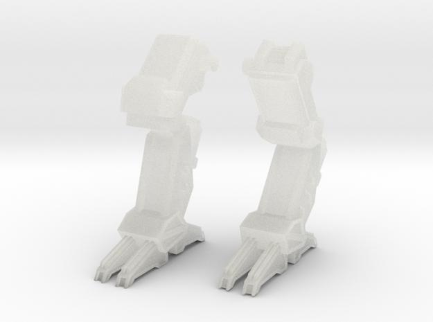 C-SAV-0 Savitri Legs - walking in Smooth Fine Detail Plastic