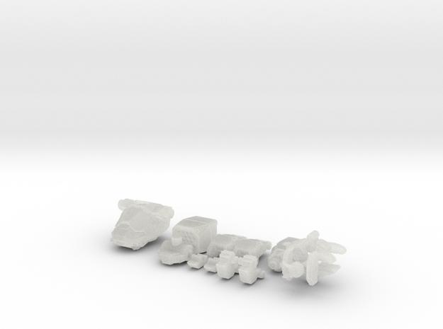 TRO3063 - CPLT-7H in Smooth Fine Detail Plastic