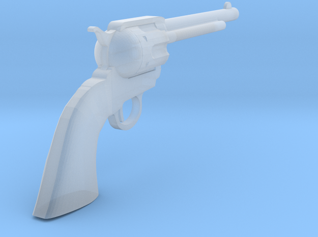 1/18 Scale Colt Peacemaker in Smooth Fine Detail Plastic