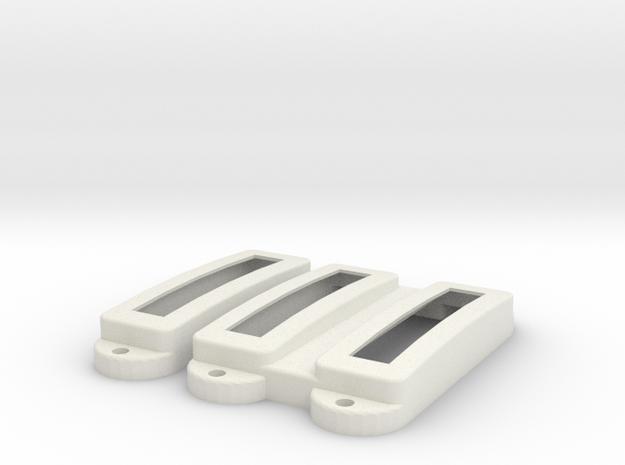 SG12 Pickup Cover Set in White Premium Versatile Plastic
