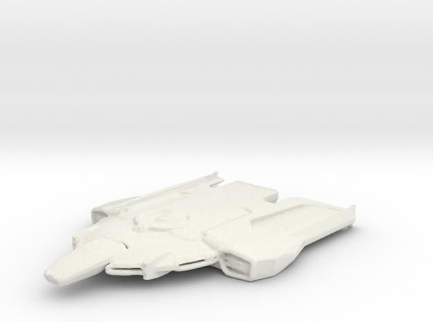 USS Strident in White Natural Versatile Plastic