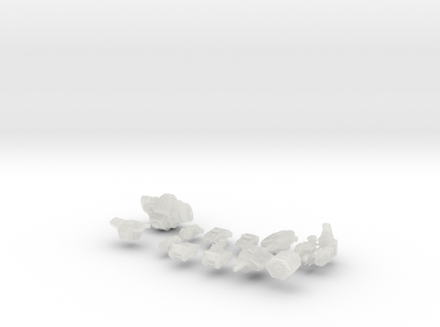TRO3063 - PV-1K in Smooth Fine Detail Plastic