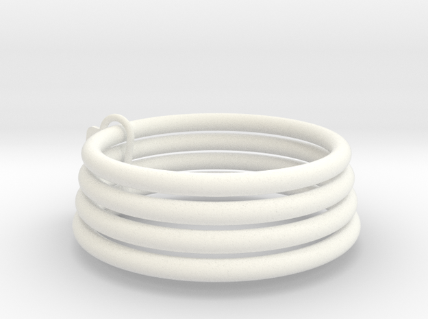 """Chastity """"Monster"""" Sizing Rings in White Processed Versatile Plastic: Extra Small"""