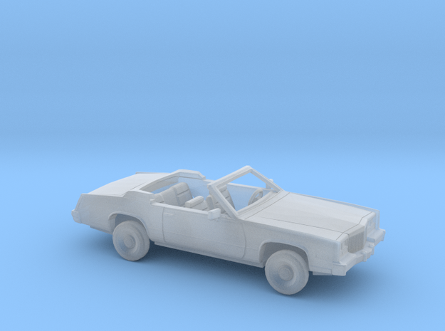 1/160 1979-85 Cadillac Eldorado Convertible Kit in Smooth Fine Detail Plastic