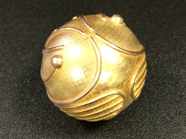 Golden Snitch (Solid Metal)