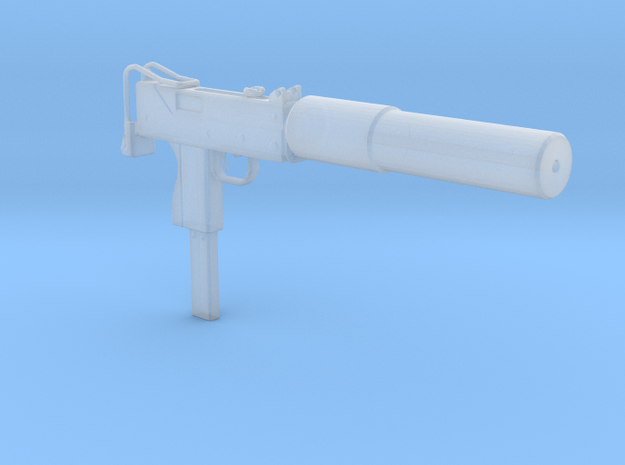 1/18 Scale MAC 10 in Smooth Fine Detail Plastic